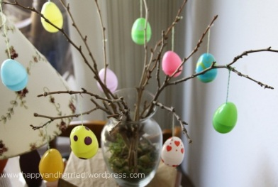 Easter egg tree 6