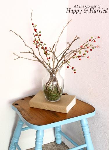 Blue Stool Makeover 4