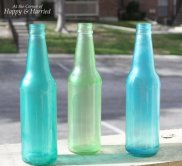 DIY Colored Bottles