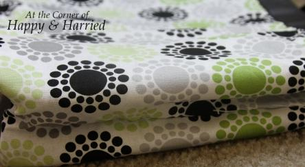 Handbag Makeover With Fabric 5