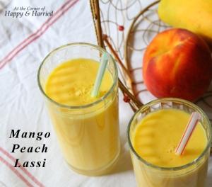 Summer Cooler - Mango Peach Lassi