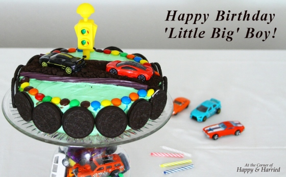 Boys Car Birthday Cake