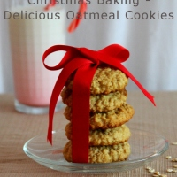 Delicious Healthier Oatmeal Cookies
