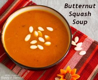Comforting Butternut Squash Soup