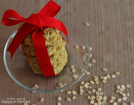 Gift of Love-Healthier Oatmeal Cookies