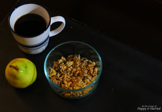 Morning Coffee, Fruit and Granola