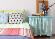 Colorful Bedroom Styling