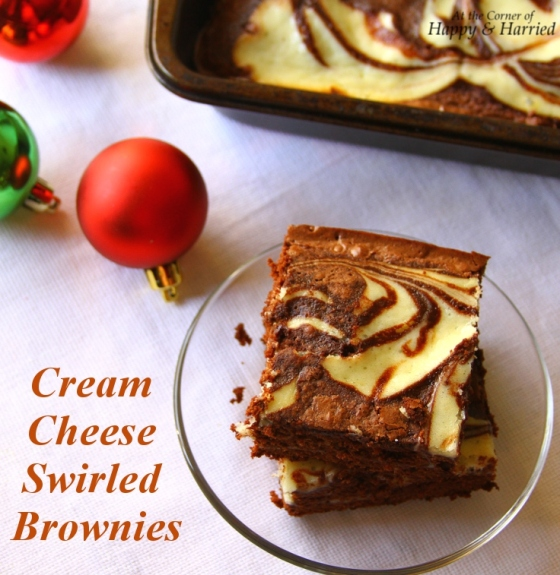 Easy Dessert – Cream Cheese Swirled Or Marbled Brownies ...