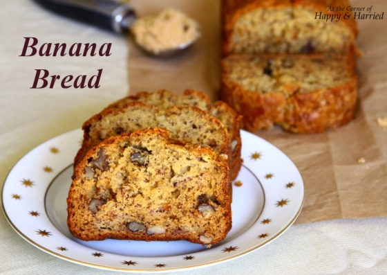 Banana Bread With Buttermilk & Brown Sugar