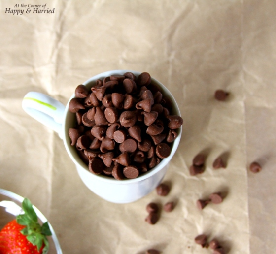 how to make milk chocolate from semi sweet chips