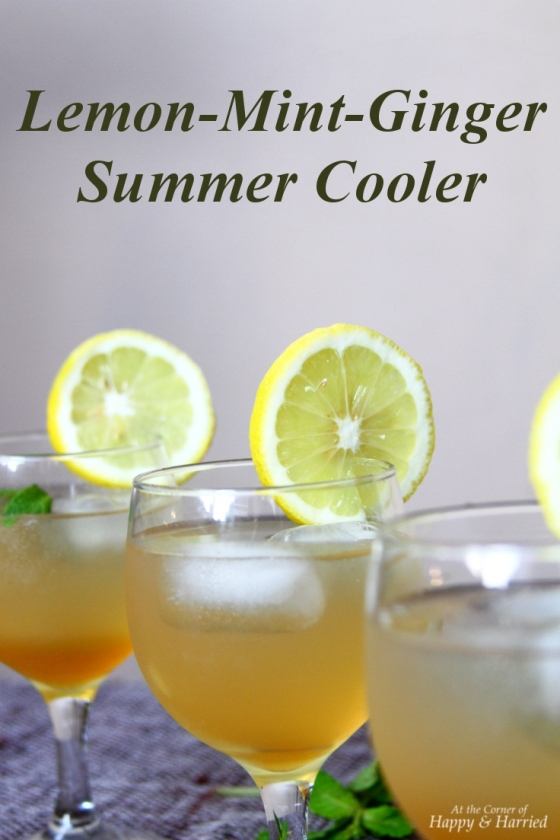 Lemon, Mint And Ginger Cooler (Juice Concentrate)
