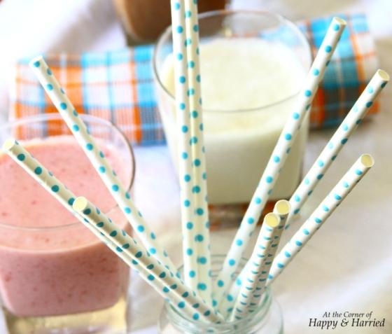 Milkshake Paper Straws