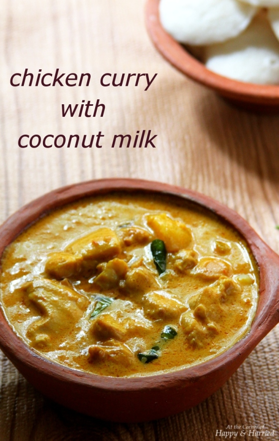 Easy Chicken Curry With Coconut Milk | At the Corner of Happy and ...