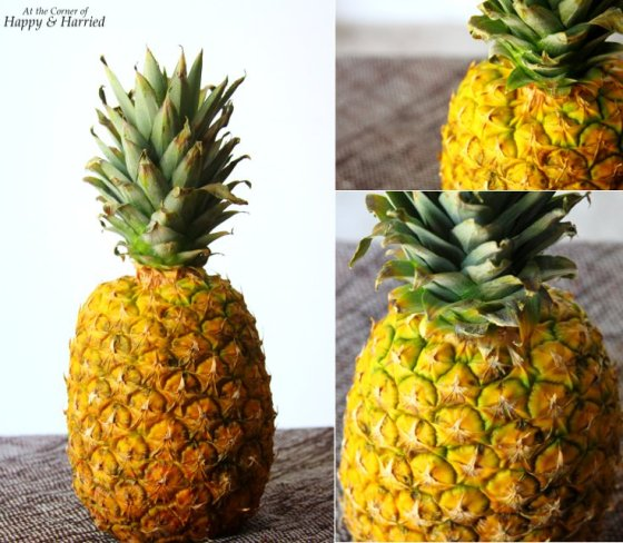 how to know when your pineapple is ripe