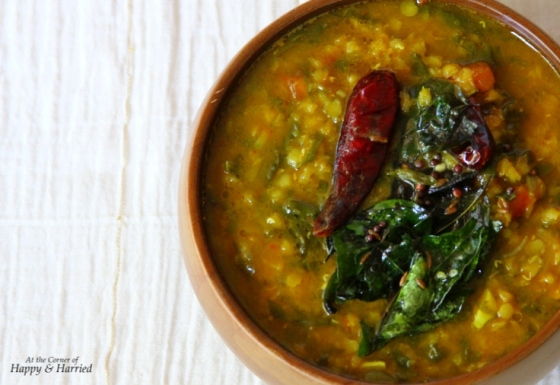 how to make dhal curry from leftover lentils