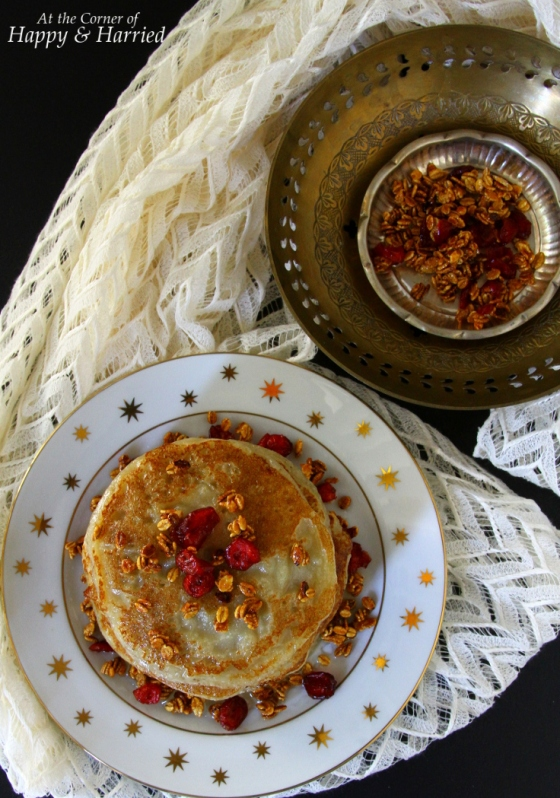 Banana Malpua Dessert - Indian Pancakes In Sugar Syrup