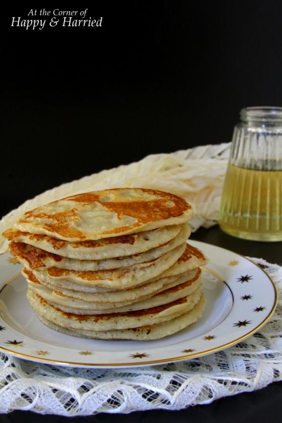Banana Pancakes & Sugar Syrup