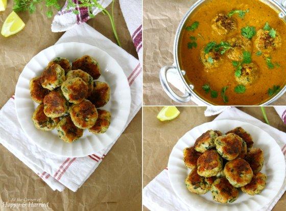 Chicken Kofta Curry With Baked Koftas (Meatballs)