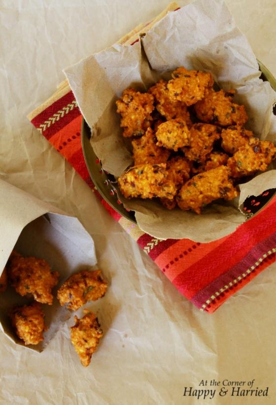 Split Bengal Gram Fritters (Dhuli Moon Dal Vade)