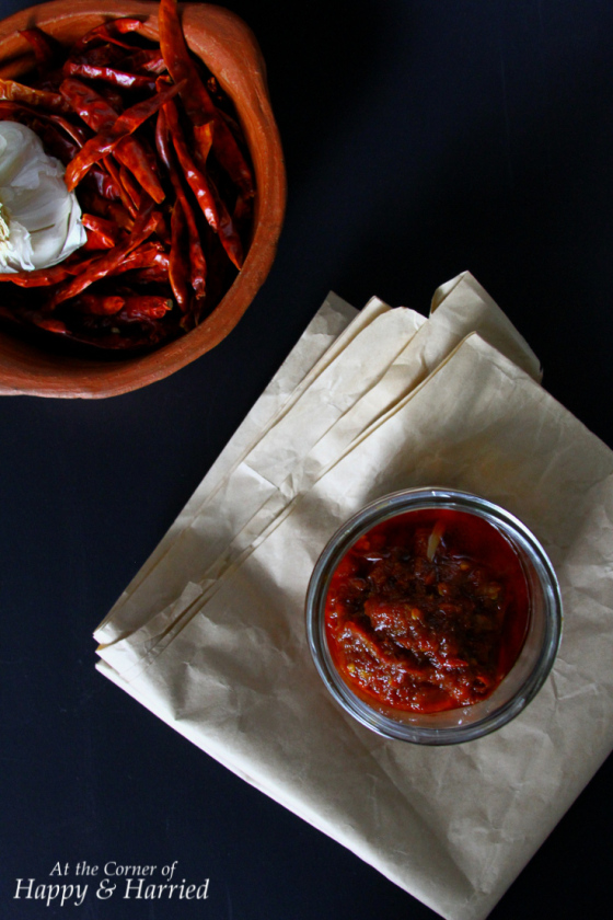 A Fiery Chili-Garlic Sauce