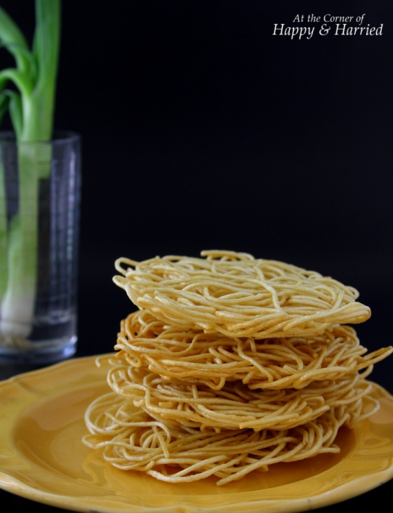 Crispy Fried Noodles