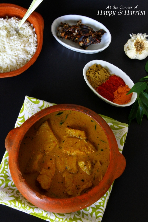 Fish In Spicy Tamarind & Coconut Milk Curry