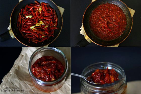 Homemade Red Chilies & Garlic Sauce