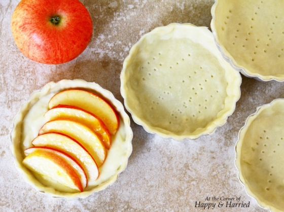Enjoy your apple tartlet with a dollop of whipped cream or vanilla ice ...