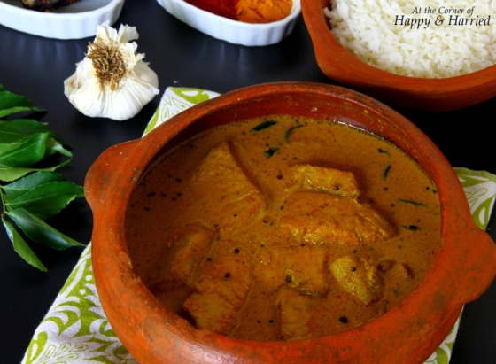 Kerala Fish Curry In Coconut Milk