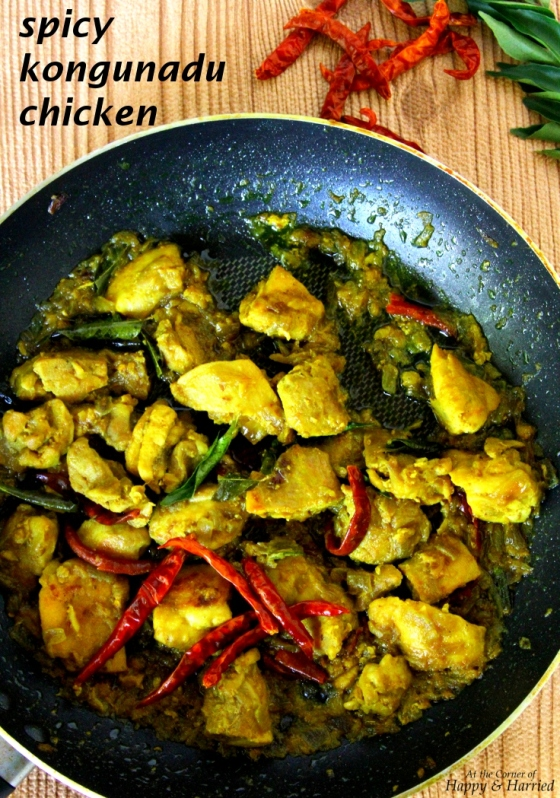 Spicy Kongunadu Chicken