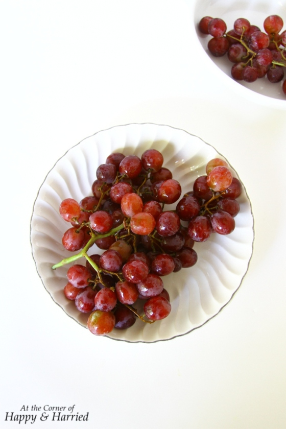 Sweet Red Grapes