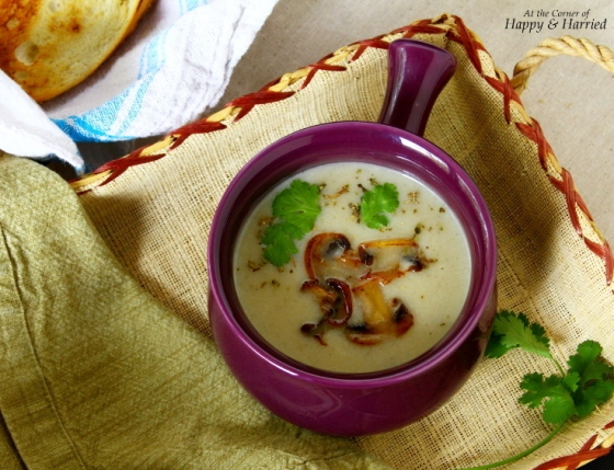 Cream Of Kohlrabi Soup