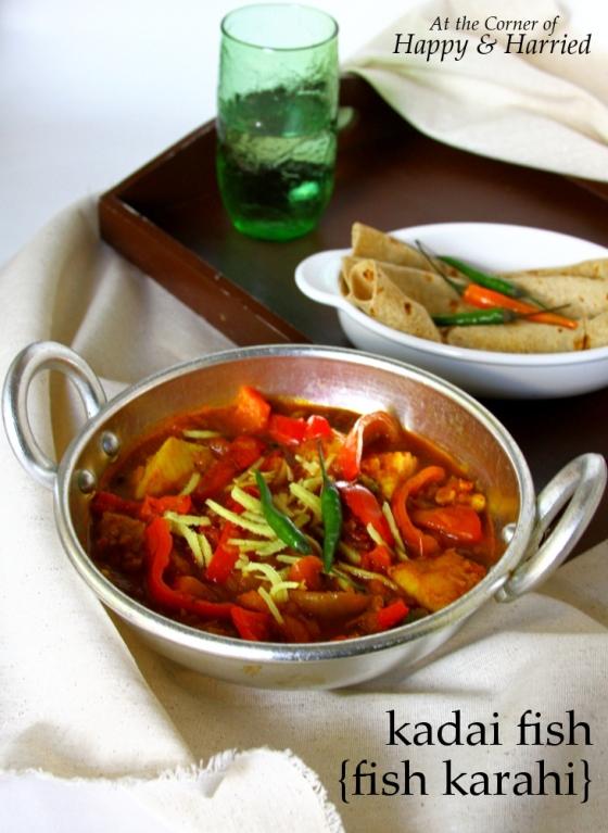 Kadai Fish or Fish Karahi