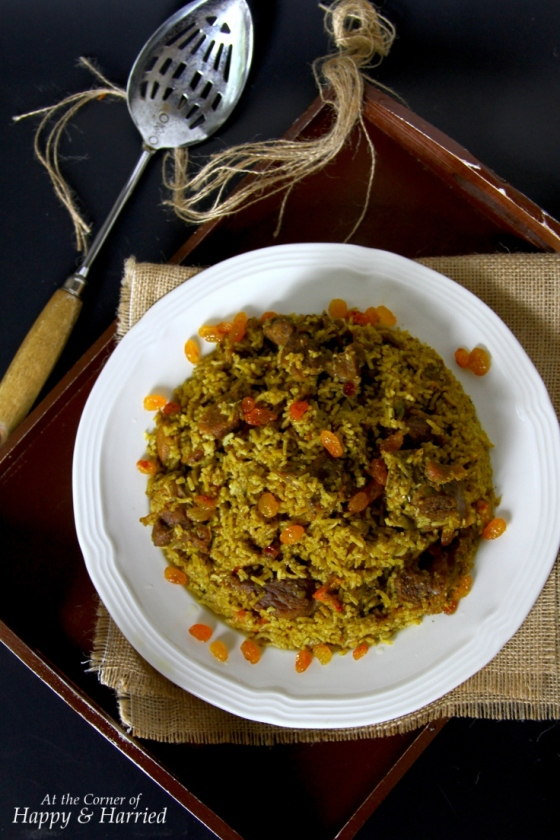 Mutton Or Goat Biryani {Tamil Nadu Style}