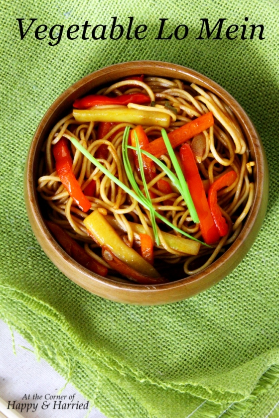 Quick & Delicious Vegetable Lo Mein