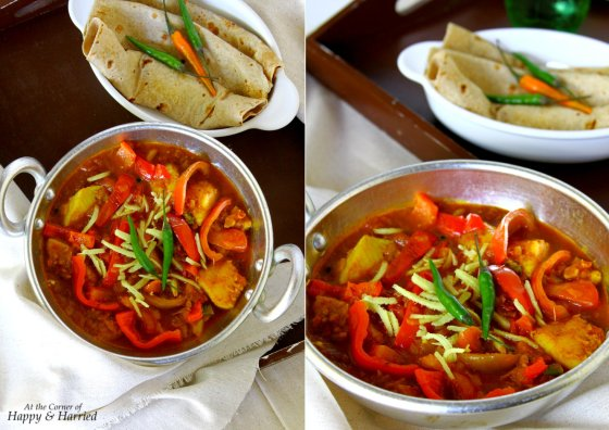 Restaurant Style Kadai Fish
