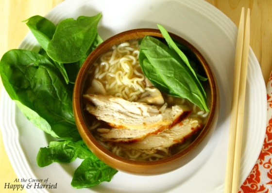 Roasted Chicken And Noodle Soup