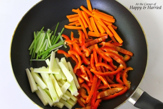 Vegetables For Lo Mein