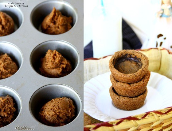 Baking Chocolate Cookie Cups