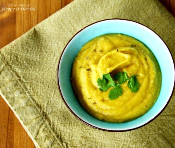 Cauliflower & Delicata Squash Soup