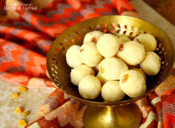 Diwali Sweet - Rava or Sooji Ladoo