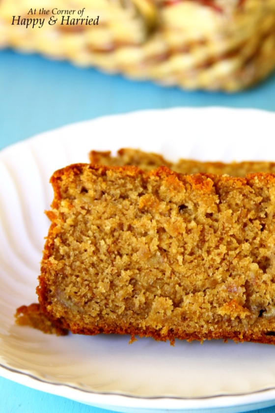 Eggless Peanut Butter-Brown Sugar Banana Bread