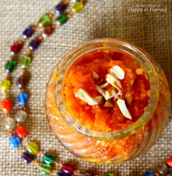 Gajar Ka Halwa {Sweet Carrot Pudding}