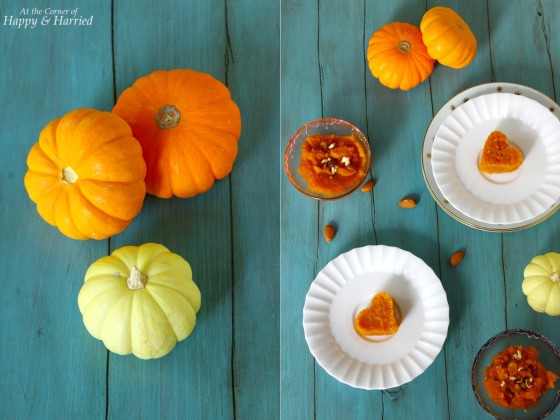 Orange Pumpkin Halwa