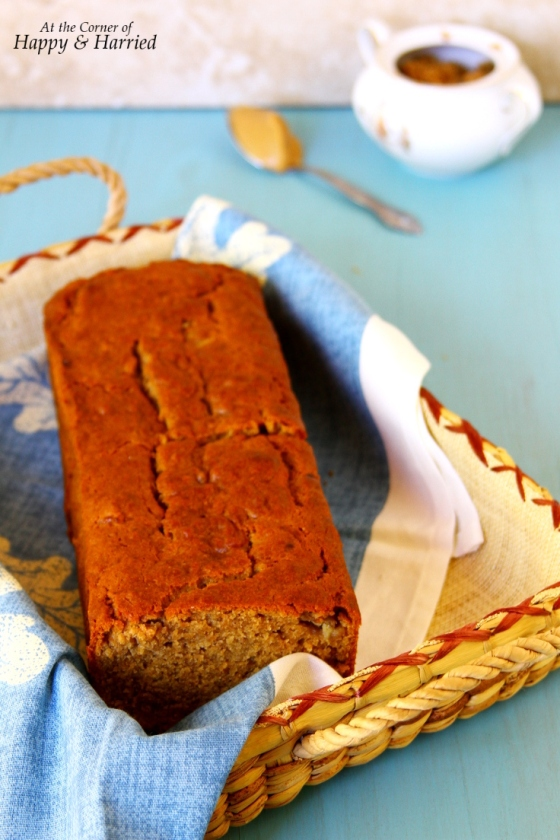 Peanut Butter-Buttermilk Banana Bread