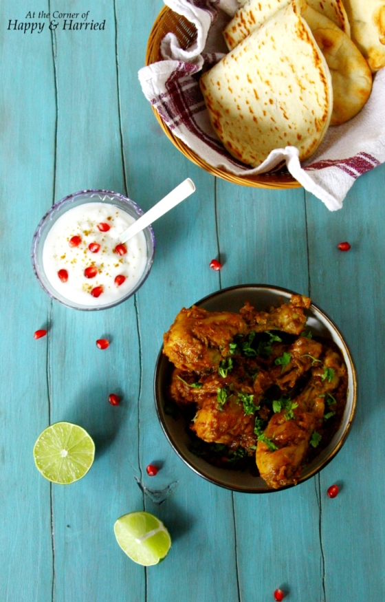 Balti Chicken {Spicy Chicken Masala}