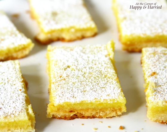 Easy Citrus Bars