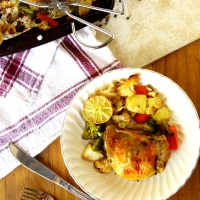 Herb Roasted Chicken With Vegetables