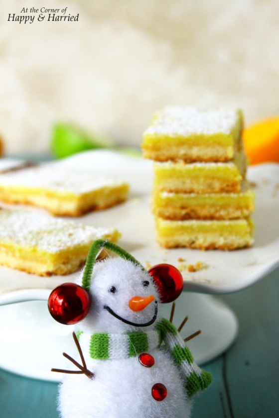 Holiday Baking: Citrus Bars