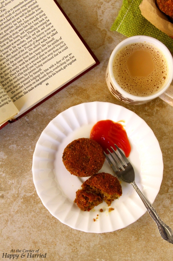 Indian Spicy Meat Cutlets (Breaded and Fried Croquettes)
